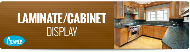 Camie Laminate, Cabinet, Display Page